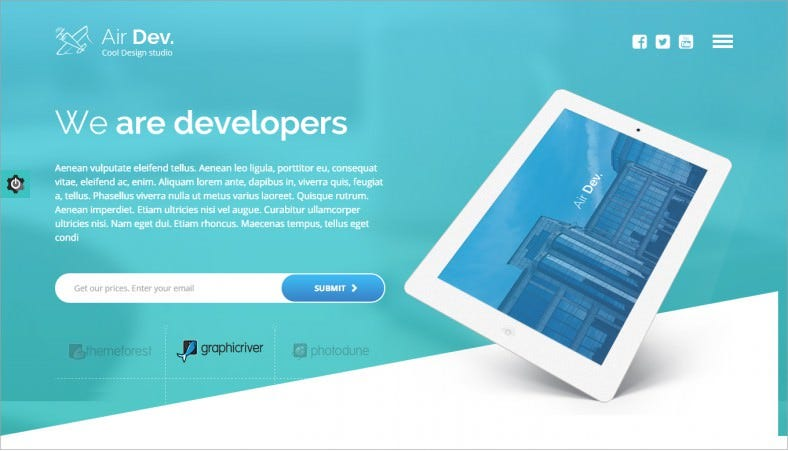 airdev blue responsive wordpress theme 48 788x451