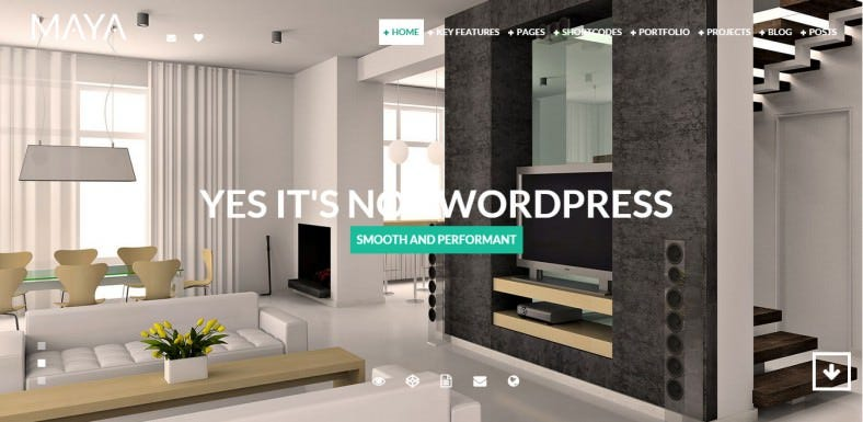 Amazing Interior Design Drupal Template