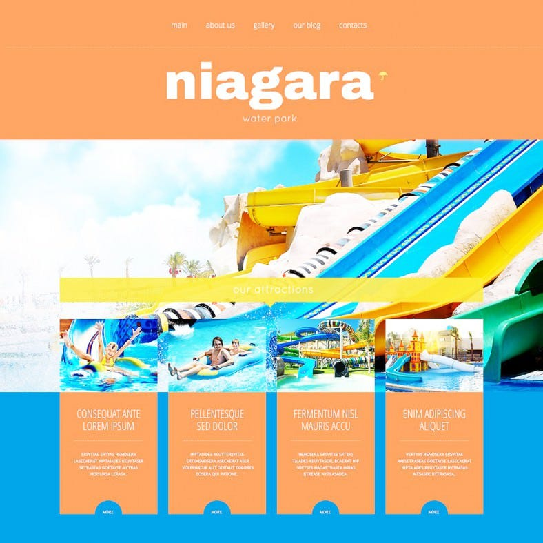 amusement park orange responsive wordpress themes 75 788x788