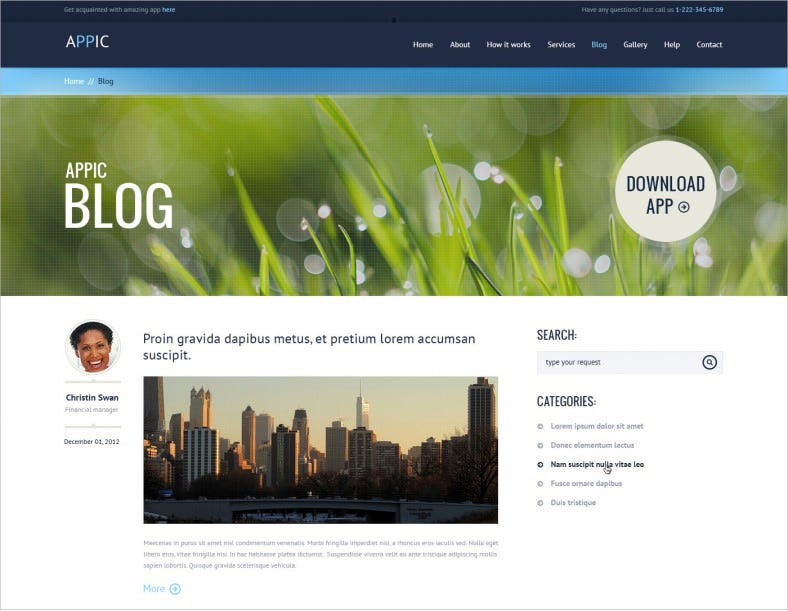 10+ Best Bootstrap PSD Templates |PSD|Free & Premium Themes | Free ...