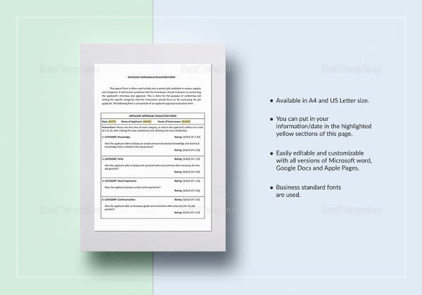 applicant-appraisal-form-evaluation-template-in-ipages