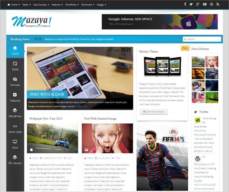 4 Best Arabic WordPress Templates & Themes   Free & Premium Templates