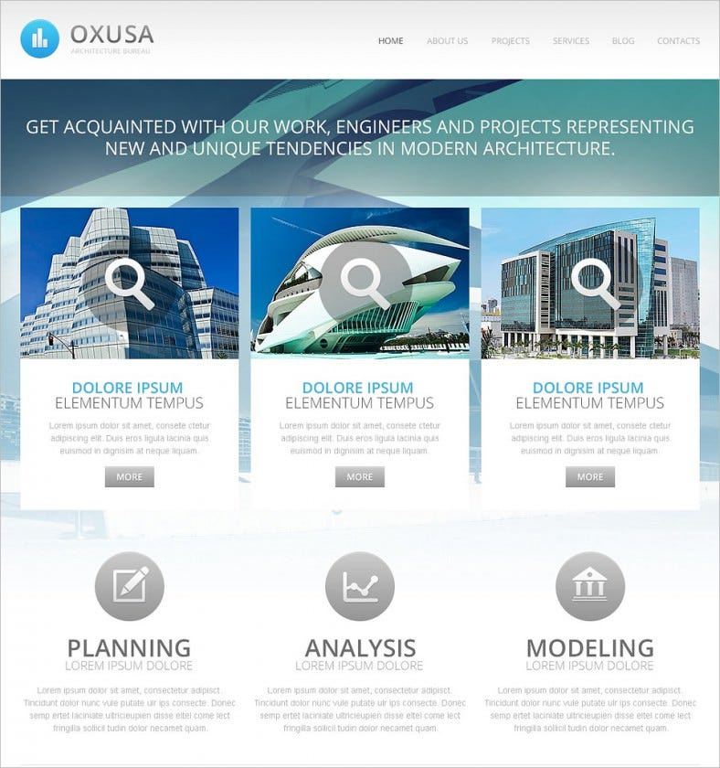 Architecture Construction Company Drupal Template