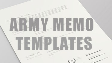 armymemotemplates