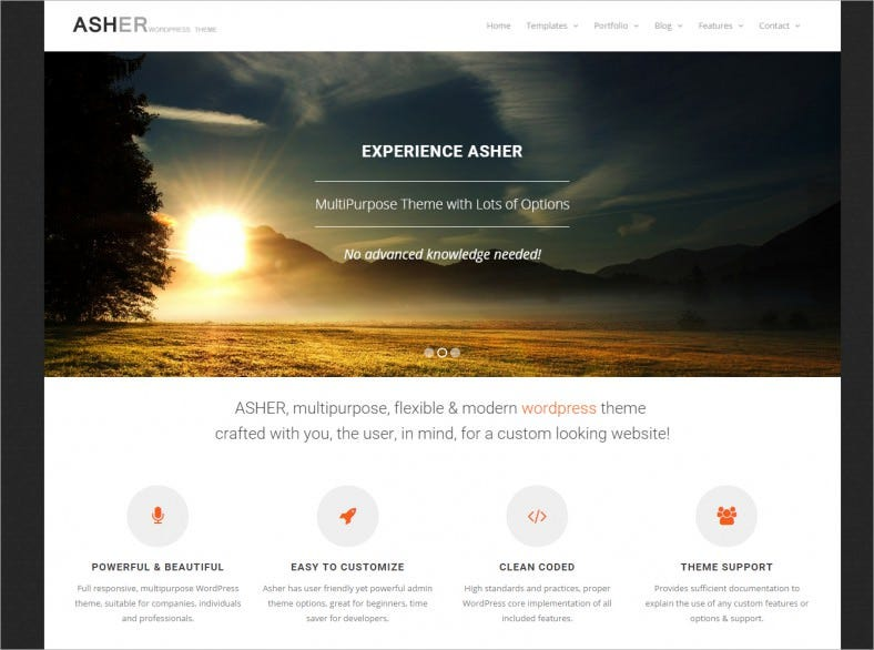 asher wordpress multipurpose template 39 788x586