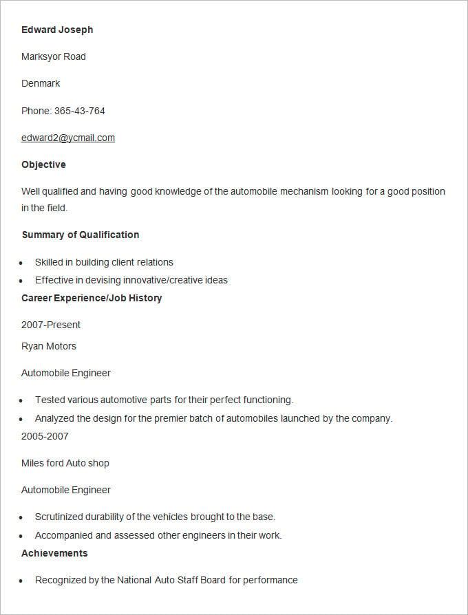 word sample resume resume format doc file download resume resume free resume templates tiled aqua resume