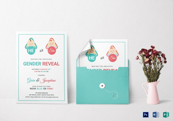 baby-gender-reveal-invitation-card-template