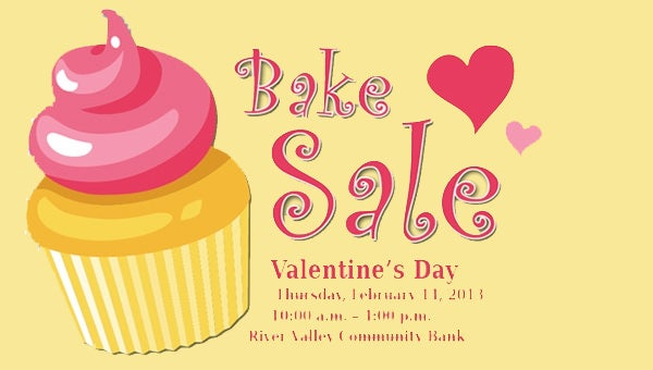 33 Bake Sale Flyer Templates Free Psd Indesign Ai Format