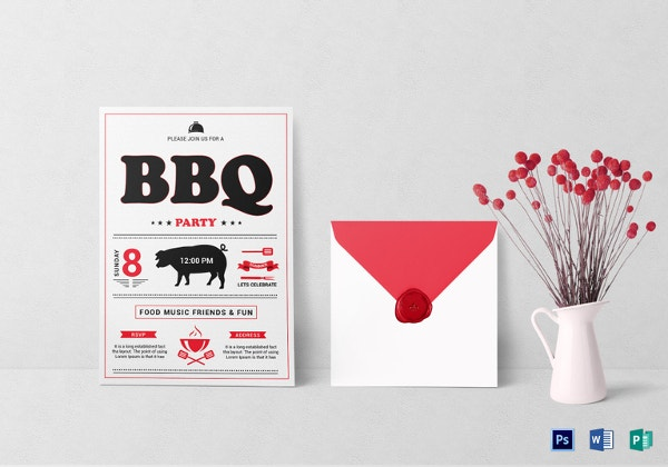 barbecue-lunch-invitation-template