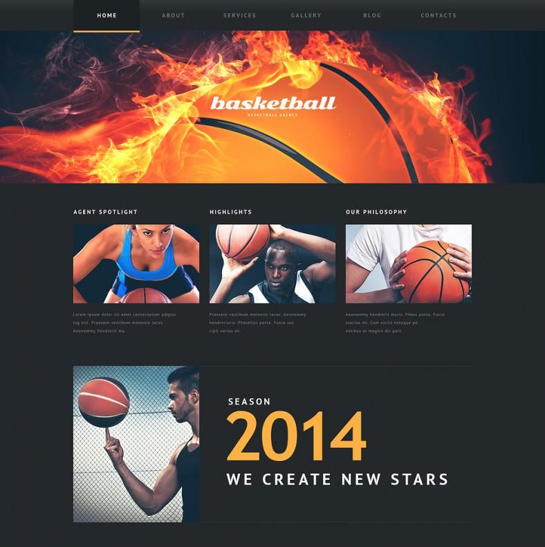 basketball put on fire responsive wordpress theme 75 788x790