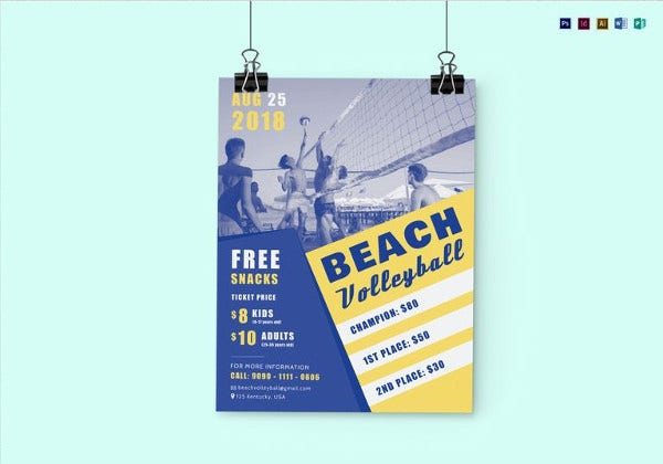 beach-volleyball-flyer-template