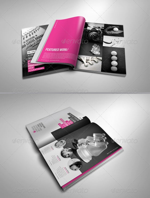beautifully designed digital brochure template