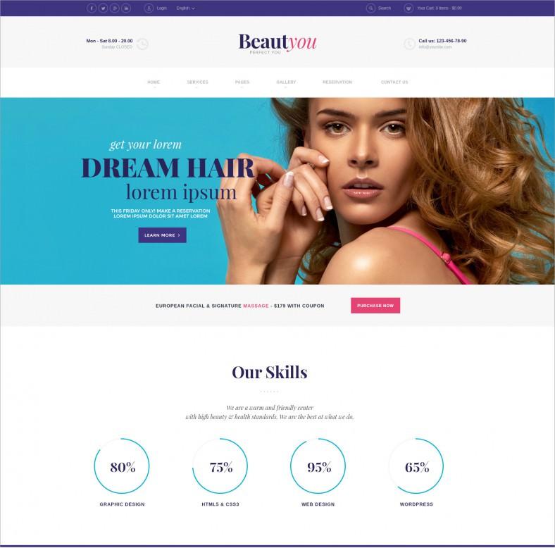 beauty make up artist responsive wordpress theme 58 788x778