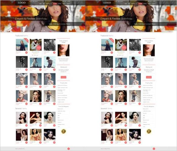 beauty shop premium ecommerce psd template