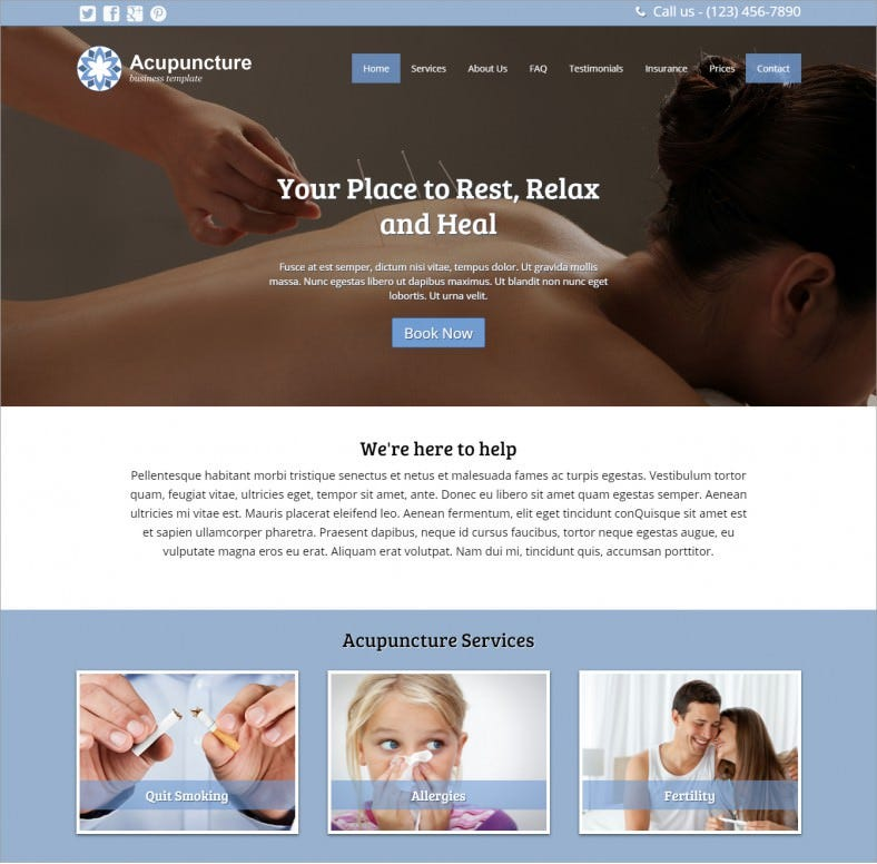 best acupuncture wordpress theme 76 788x776