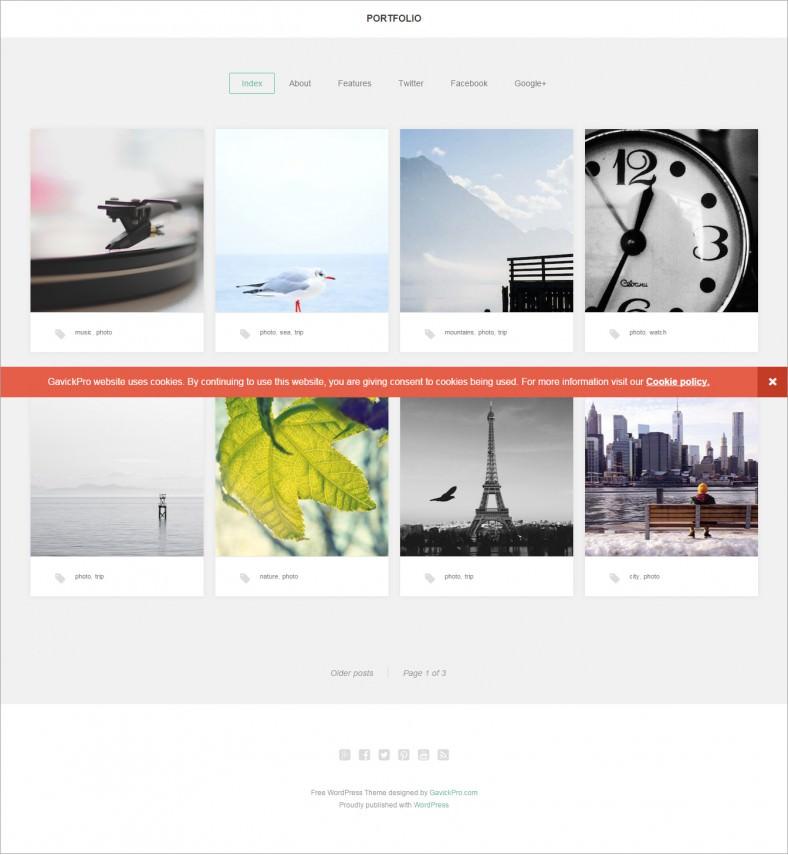 best artists portfolio responsive wordpress theme 99 788x855