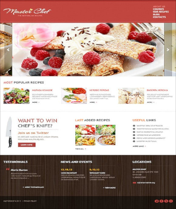 best chef joomla template1