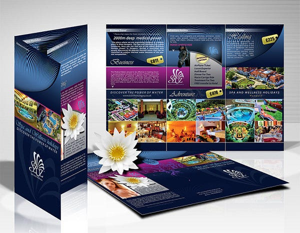 best digital brochure design template