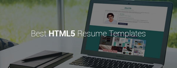 Best HTML5 Resume Templates