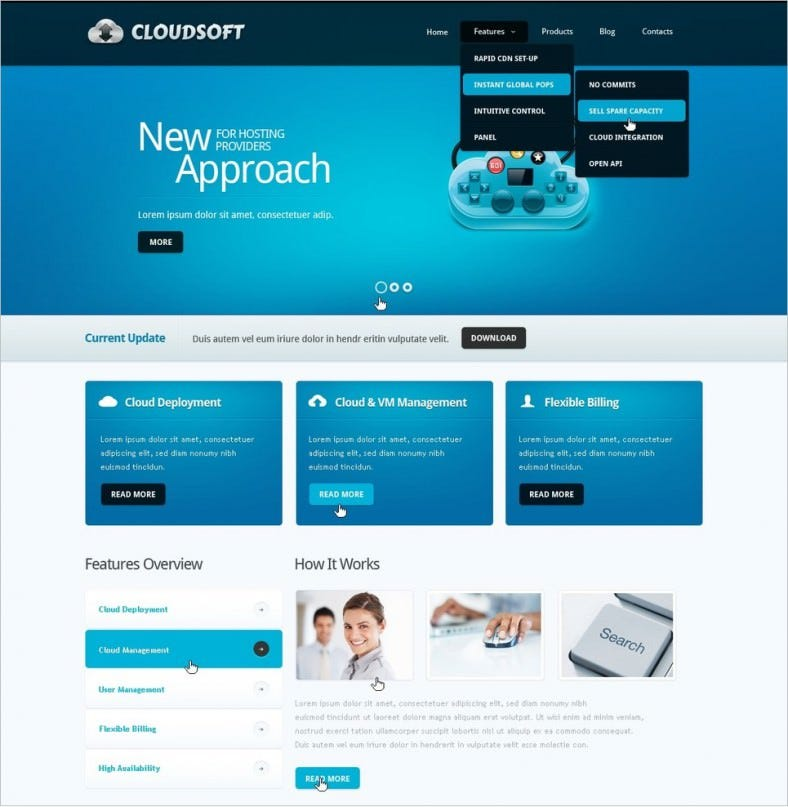 best software company drupal template 67 788x807