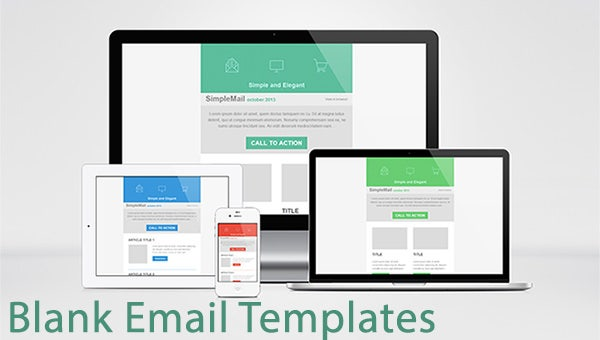 blank email templates