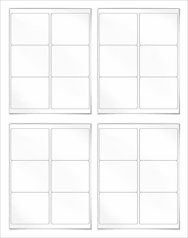 blank shipping lable template free download