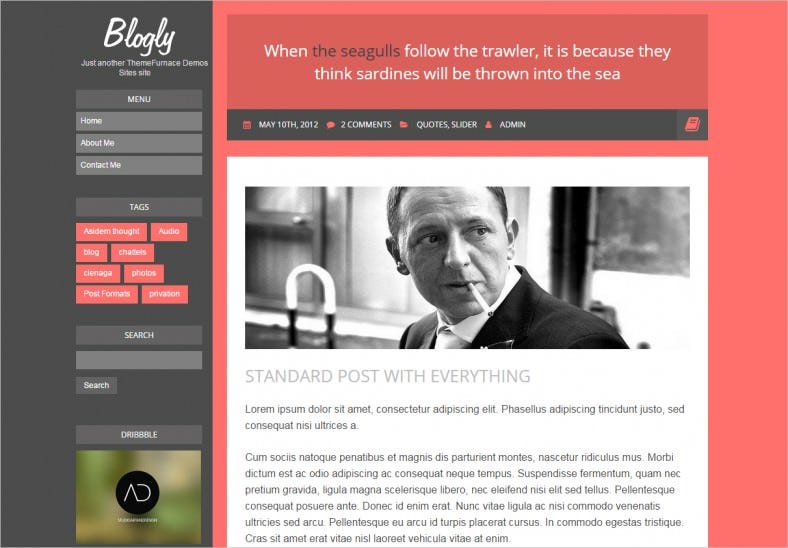 blogly wordpress theme 788x548