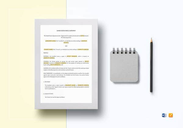 booth-rental-agreement-template