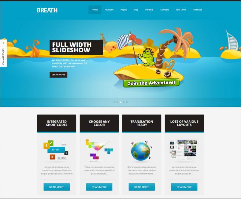 breath blue responsive wordpress theme 48 788x650