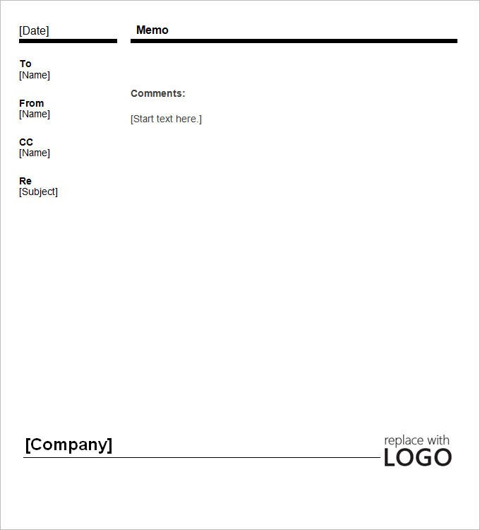 Blank Memo Blank Memos Sample Template For Certification Of Company