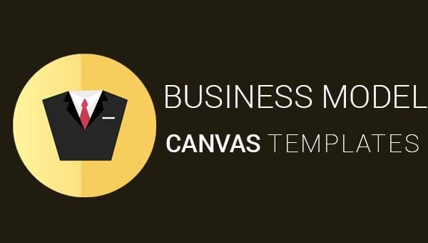 business model canvas templates