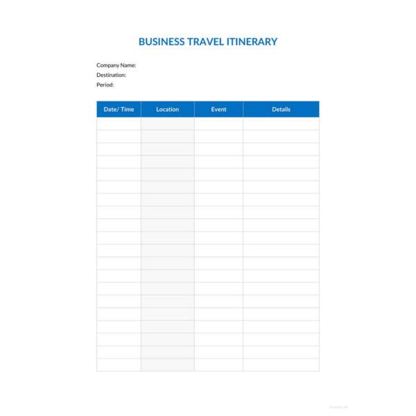 business plan for travel agency sample