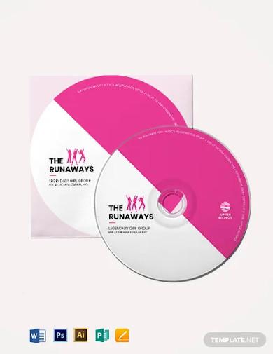 cd dvd label template1