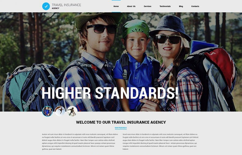 CSS 3, HTML 5, JQuery Responsive Theme