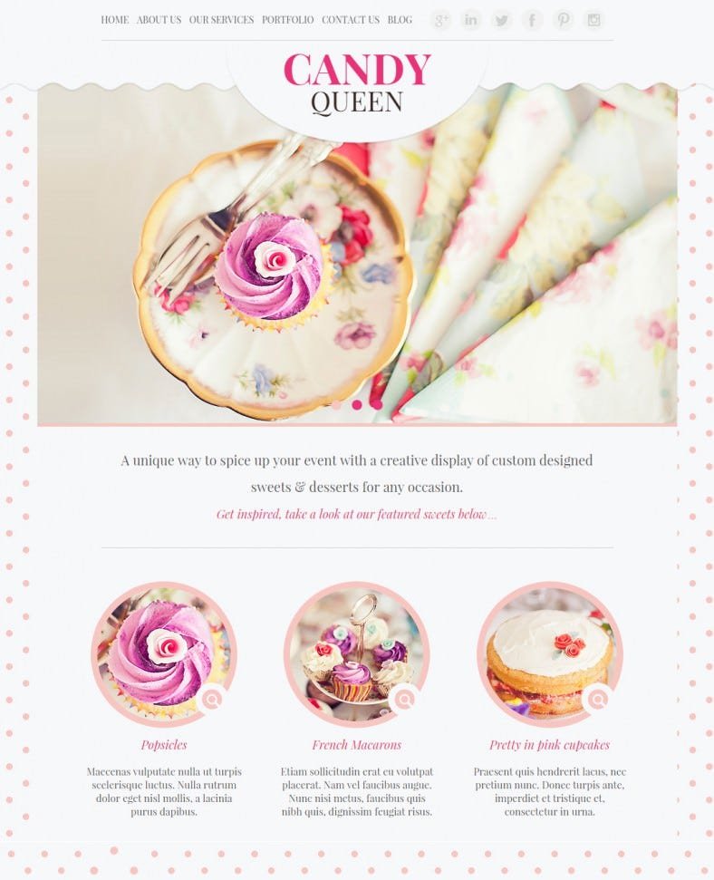candy queen pink responsive wordpress template 43 788x971