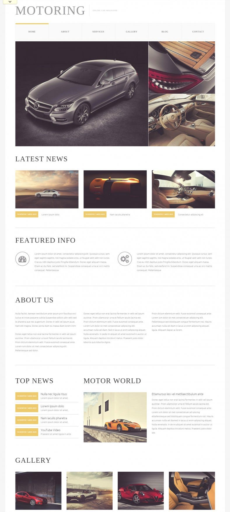 Car Bike Magazine Drupal Theme