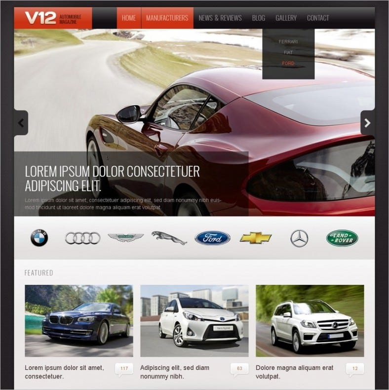 car club drupal template1 788x791