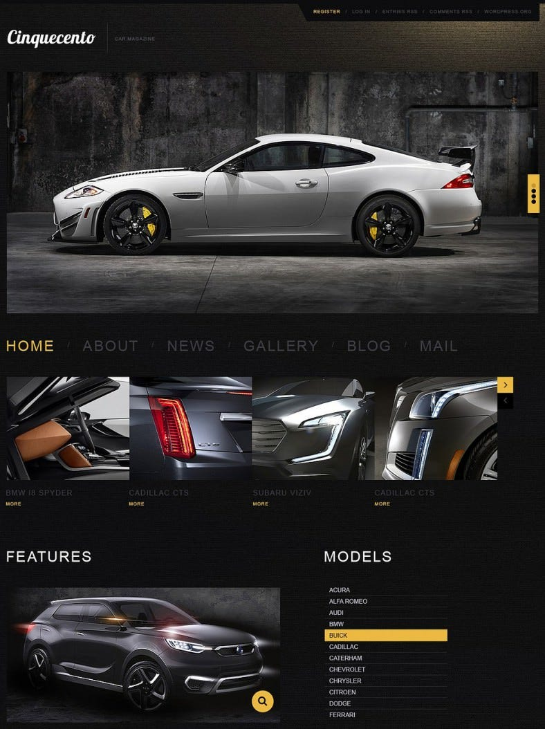 cars dark black responsive wordpress themes 751 788x1054
