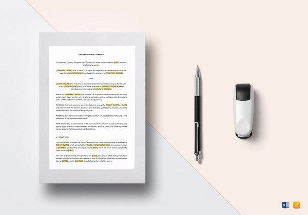 catering event contract template1