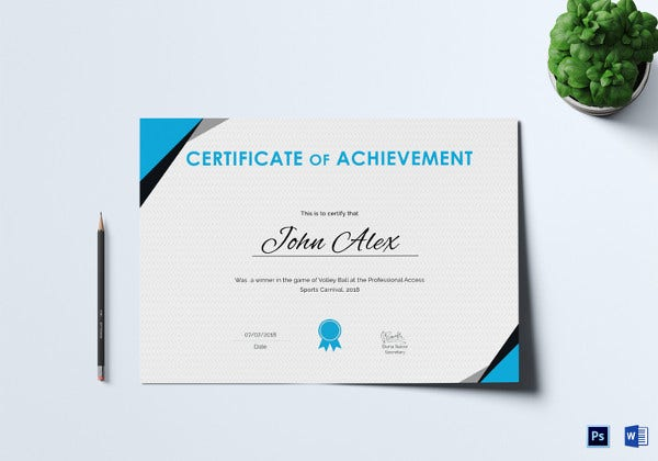 certificate-of-athletic-achievement-psd