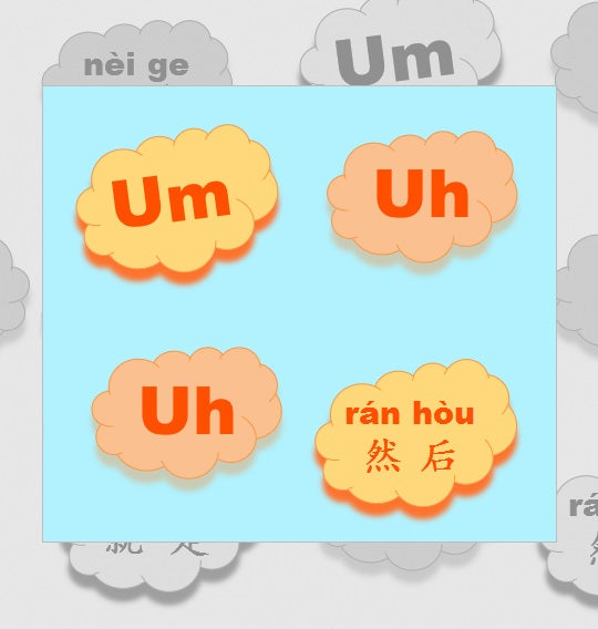 chinese filler alphabet letters and words
