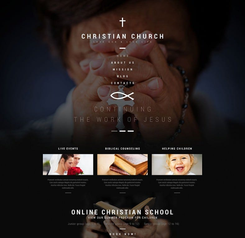 christian church spiritual church wordpress theme 45 788x767