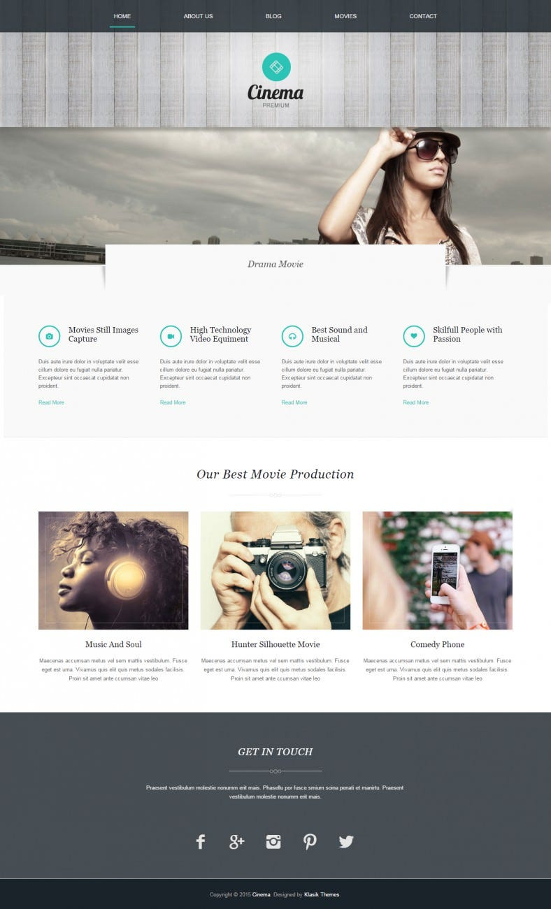 cinema wordpress theme 788x1301