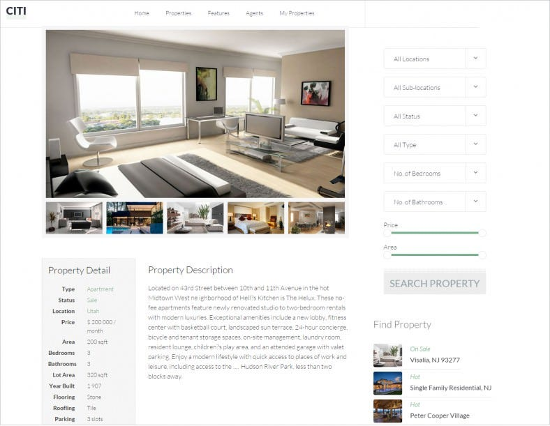 citilights real estate drupal theme 48 788x611