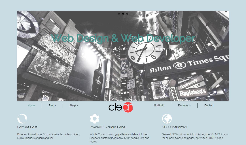 40+ Personal Blog WordPress Themes & Templates   Free & Premium ...