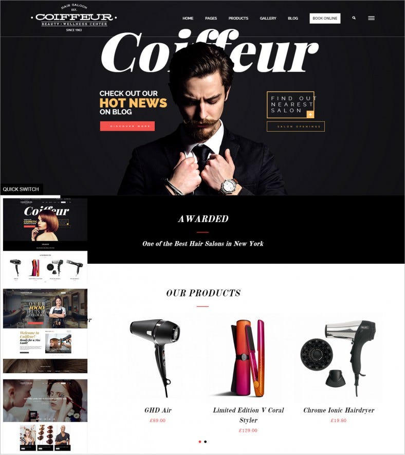 coiffeur make up artist responsive wordpress theme 58 788x885