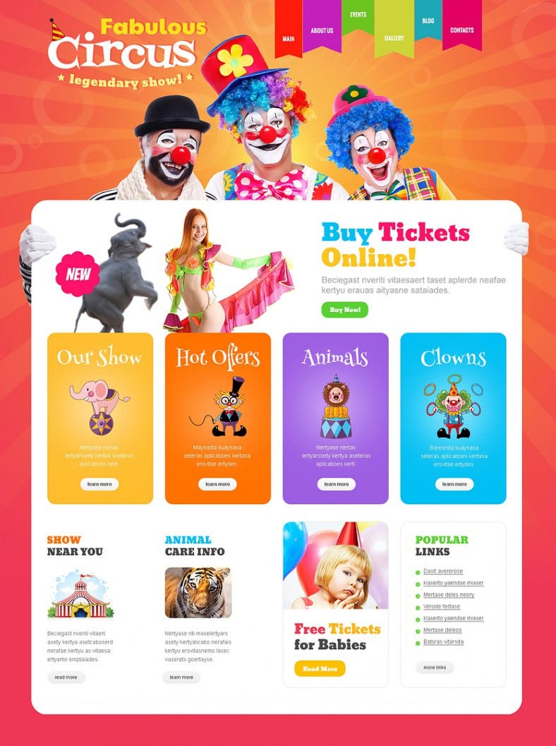 colorful entertainment red responsive wordpress theme 75 788x1057