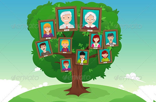 Family Tree Template For Kids – 17+ Free Word, Excel, PDF Format ...