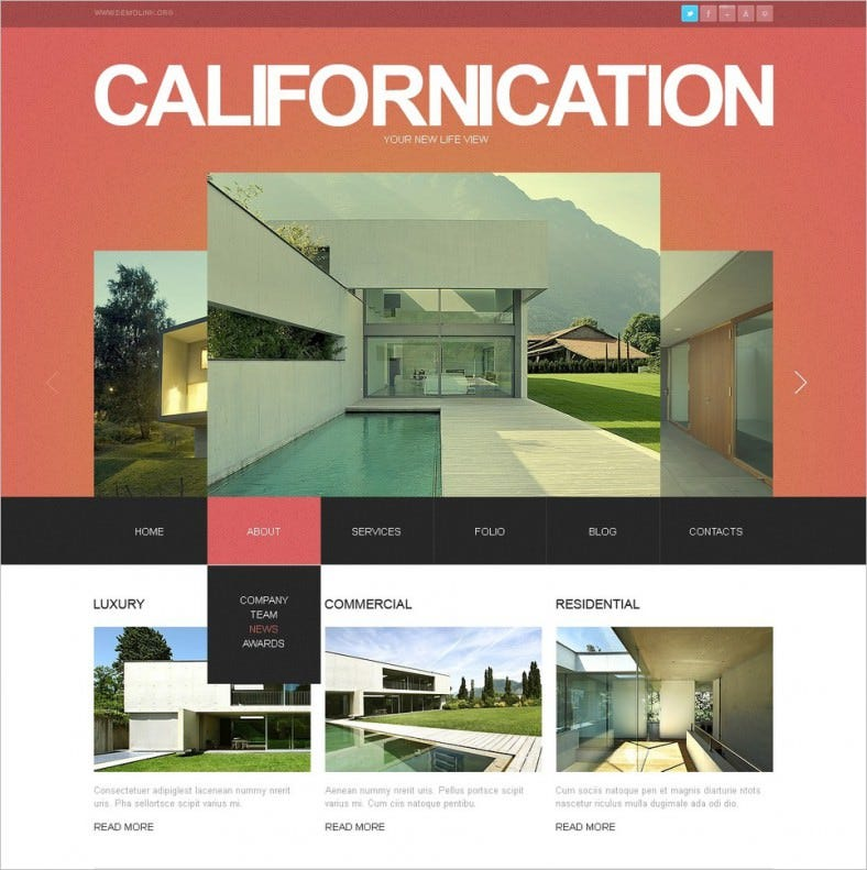 Construction Company Drupal Theme