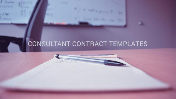 consultantcontracttemplate